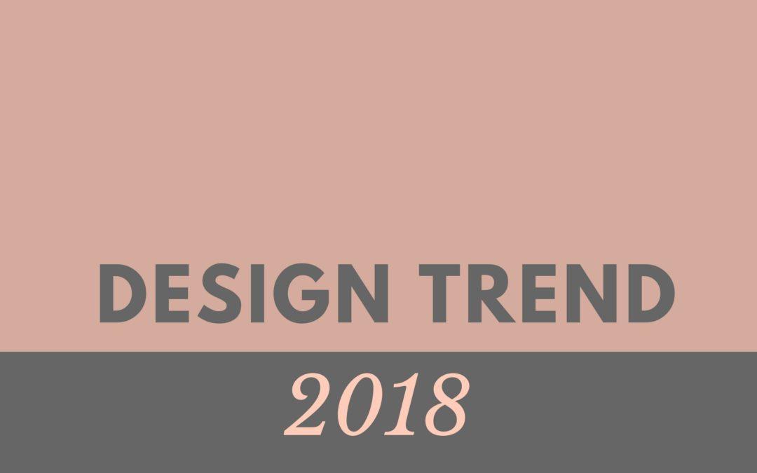 Design trend 2018